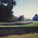 5/6RVR on parade at the Shrine of Remembrance, Anzac Day 1997
