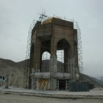 The mausoleum to Ahmad Shah Massoud