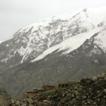 Daolana village, high in the mountains above the Salang Valley