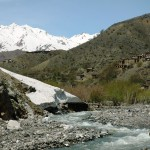 Beautiful scenery en route up to the Salang Pass