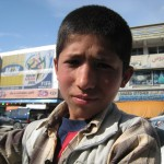 Local boy on the streets of Kabul